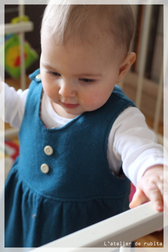 rubita robe froncée9