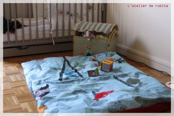 L'atelier de rubita // tapis de jeux aux oiseaux