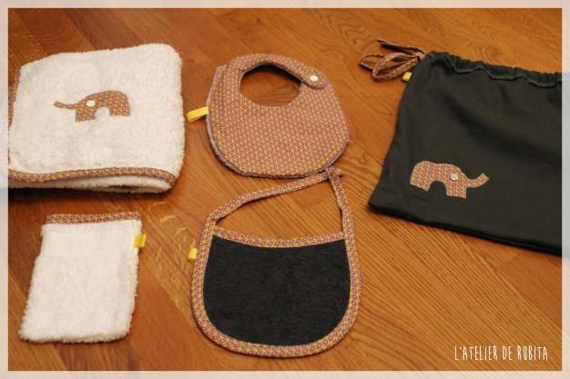 L'atelier de rubita //  baby box éléphants