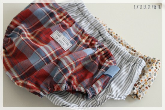 L'atelier de rubita // Pyjamas d'été pour bébé