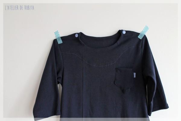 L'atelier de rubita // Sarouel et t-shirt // Esprit kimono pour les petits