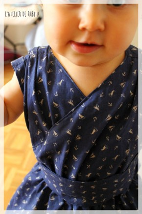 rubita harley L'atelier de rubita // Harley dress de Little dress pattern