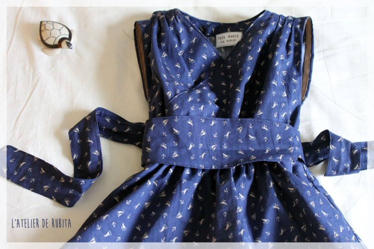 L'atelier de rubita // Harley dress de Little dress pattern