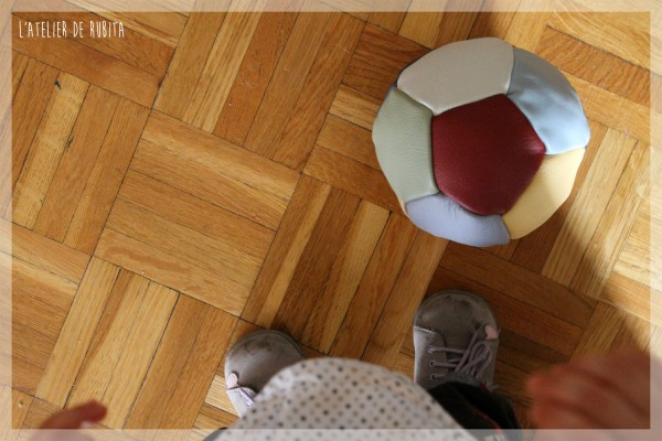 L'atelier de rubita // Ballon en cuir