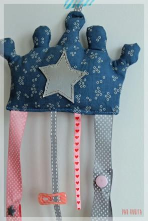 L'atelier de rubita // porte barrettes de princesse