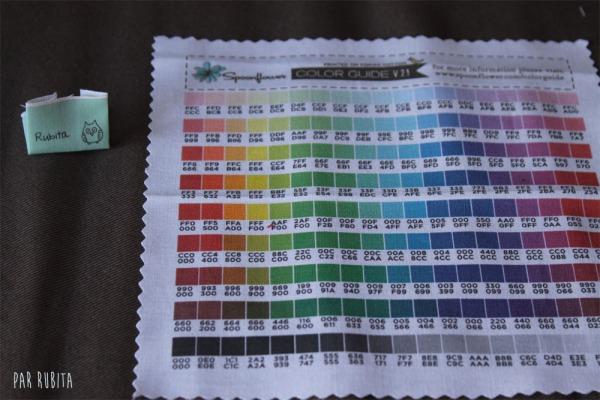 Par rubita // étiquettes personnalisées en tissu