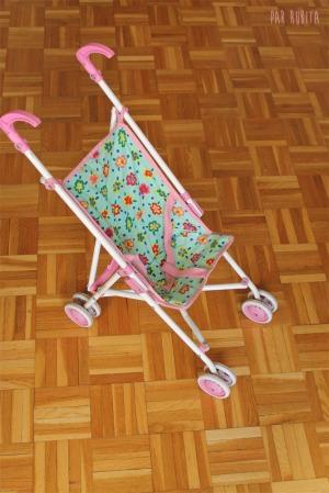 Par rubita // Poussette pour poupée customisée
