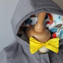 Par rubita // Duffle coat // Peek-a-boo