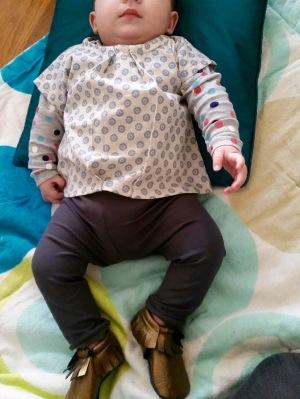Par rubita // Tunique des Basiques pour bébé