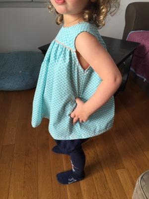 Par rubita // Tunique à empiècement des Nouveaux intemporels pour enfants