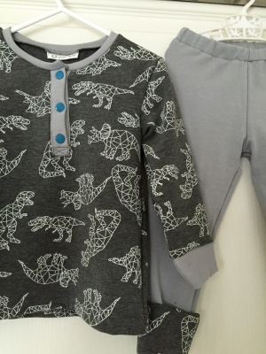 Par Rubita / Pyjama dino Ottobre